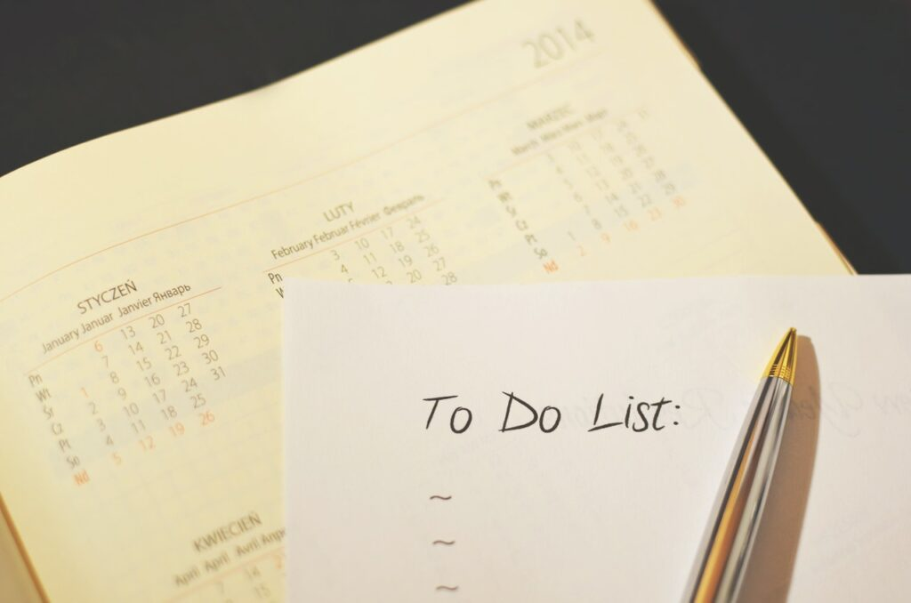 календарь и список дел