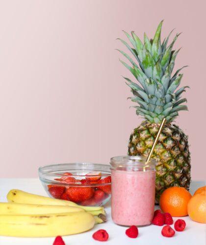 здоровая еда на столе