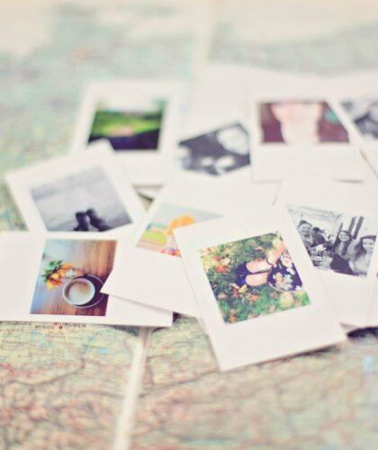 фотографии на карте