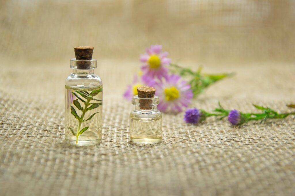 баночки с арома-маслами