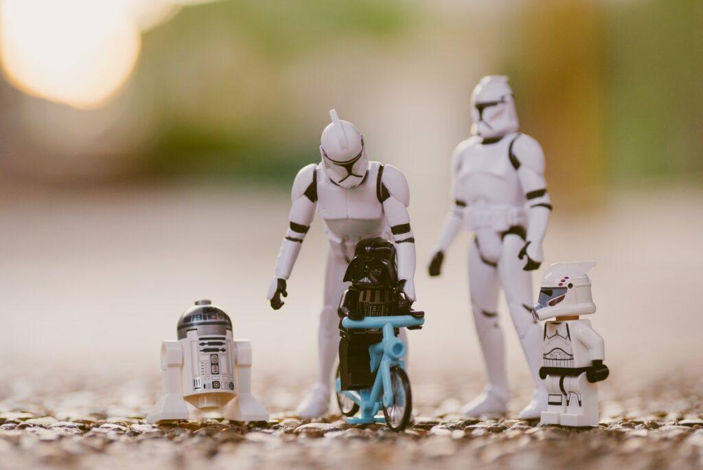 семья роботов