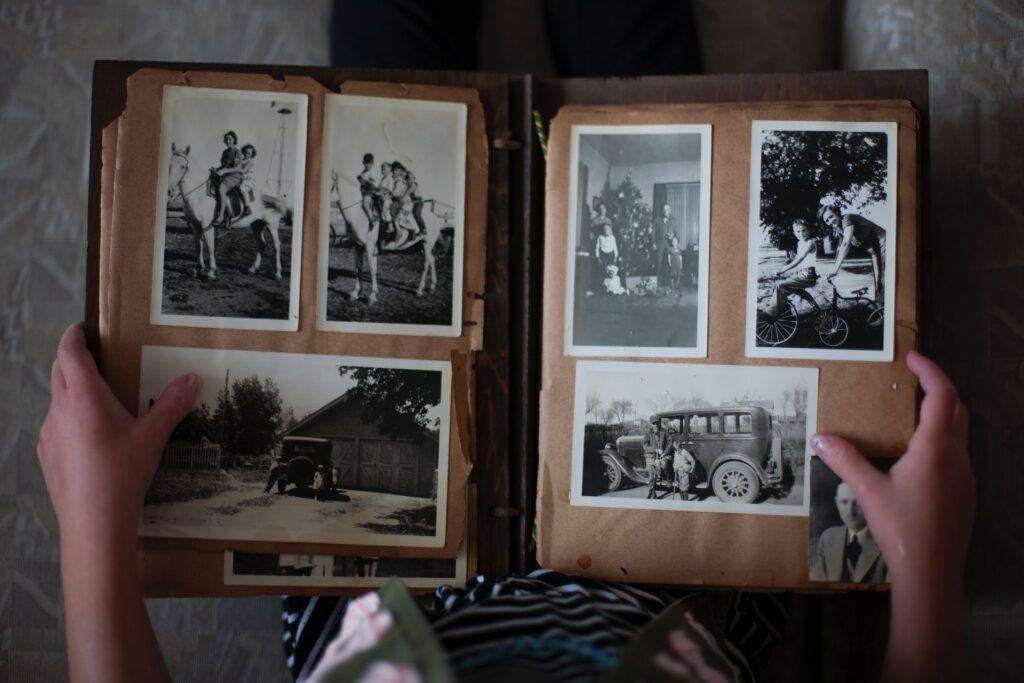 альбом с фотографиями
