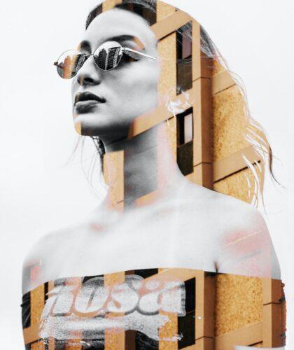 арт девушки в очках