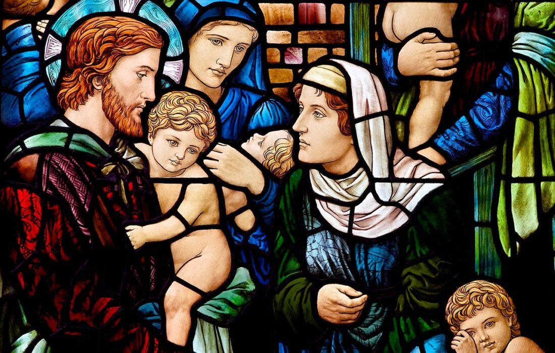 красивая религиозная фреска