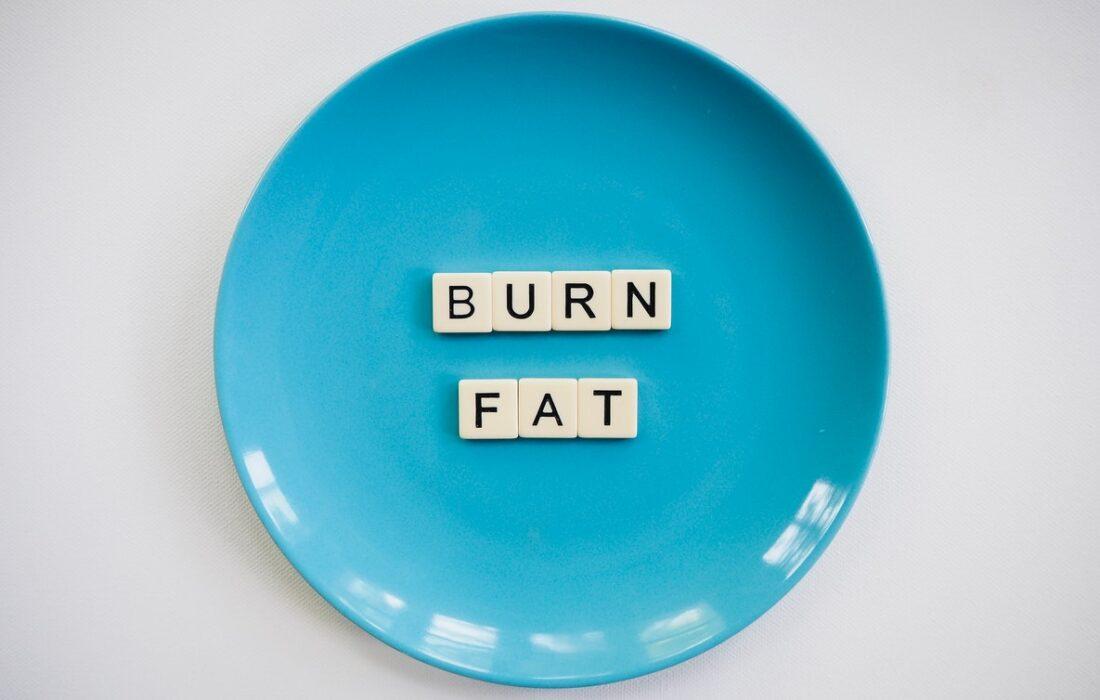 сжигаем жир на тарелке
