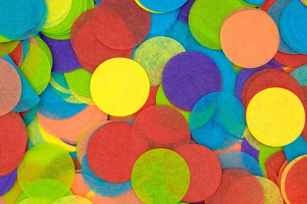 разноцветные круги