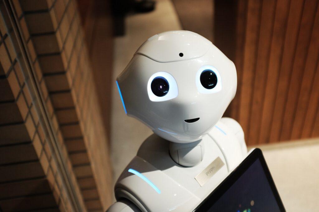красивый робот