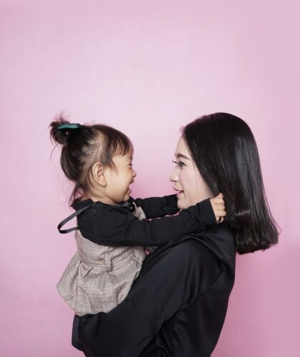 мамочка с ребенком