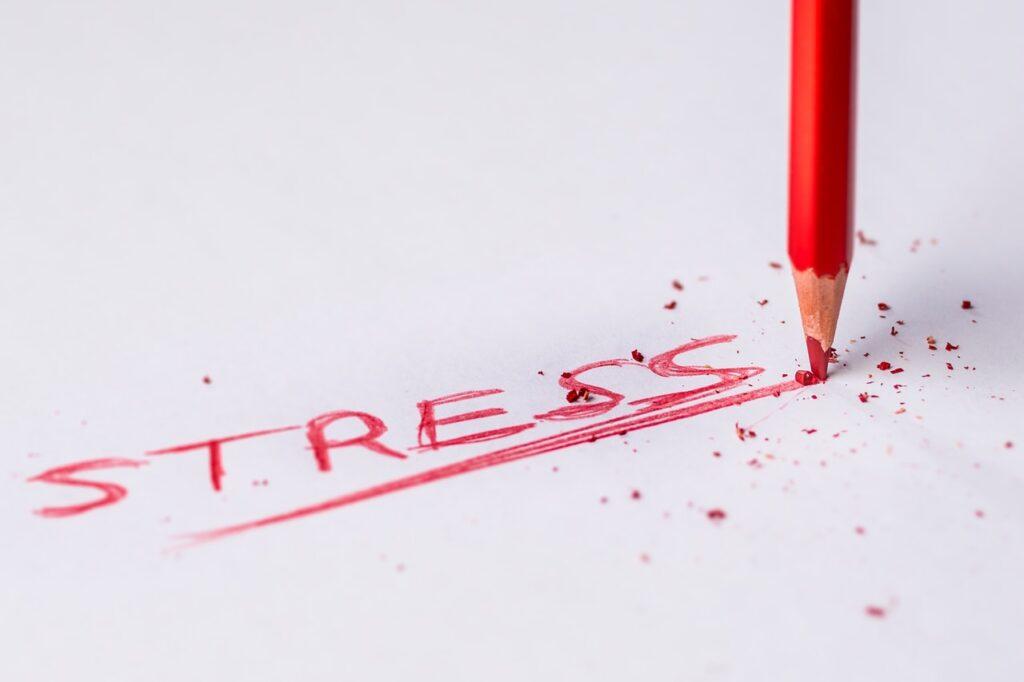 """надпись """"стресс"""""""