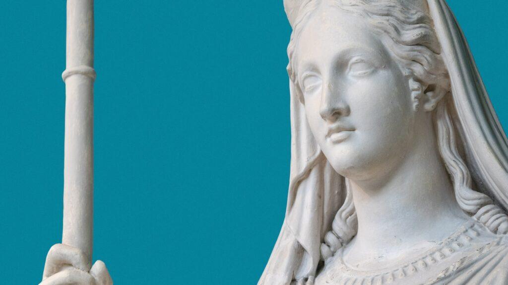 красивая статуя