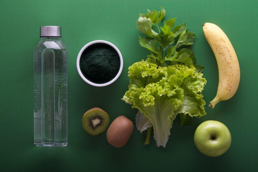 диетические еда и вода