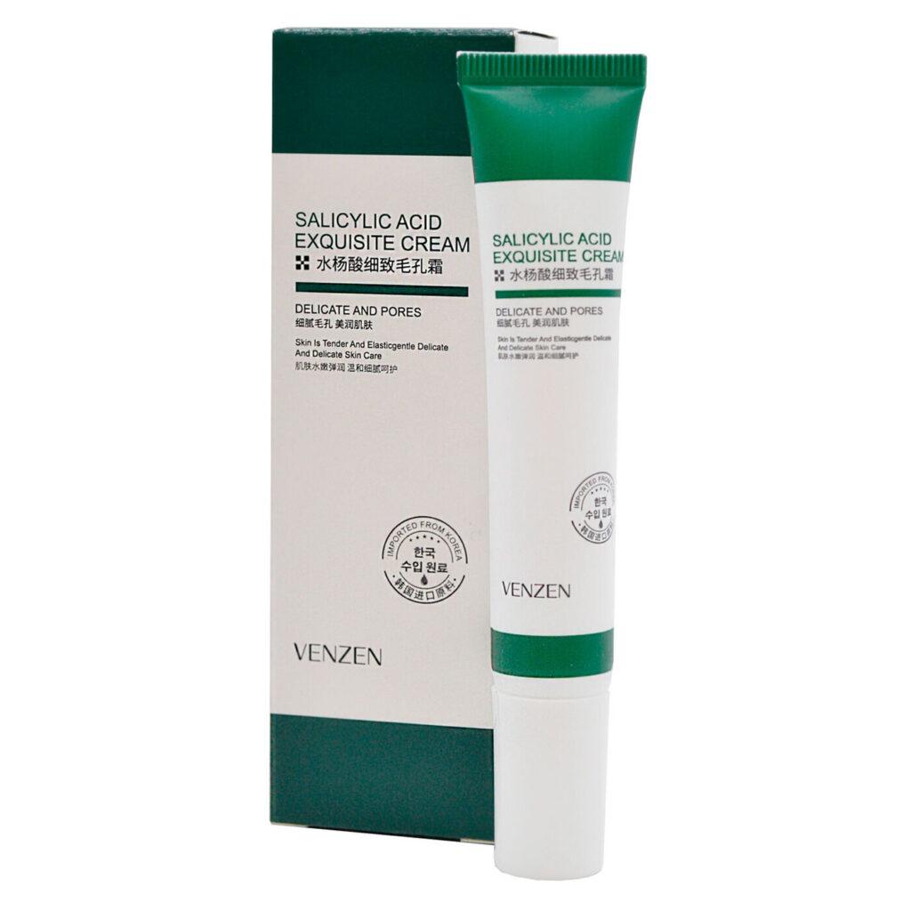 Venzen Salicylic Acid Pore Refining Cream Крем для лица с салициловой кислотой