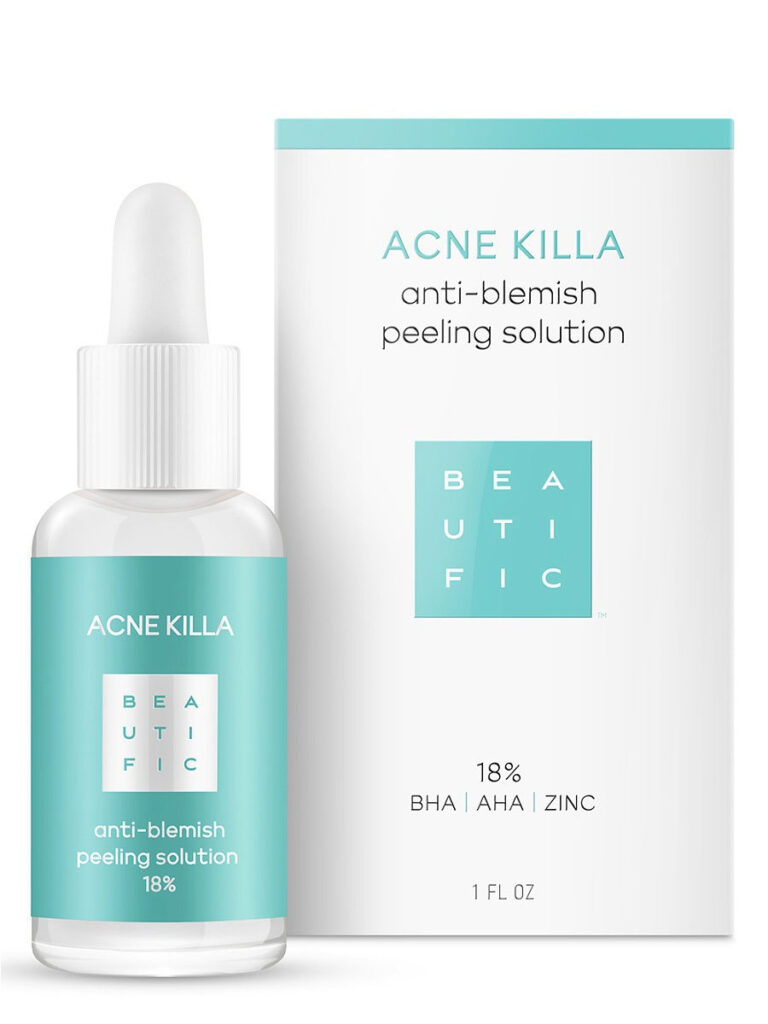 BEAUTIFIC / ACNE KILLA Пилинг для лица против акне с салициловой кислотой и цинком