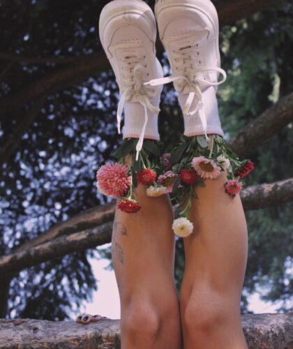 цыеты в ботинках