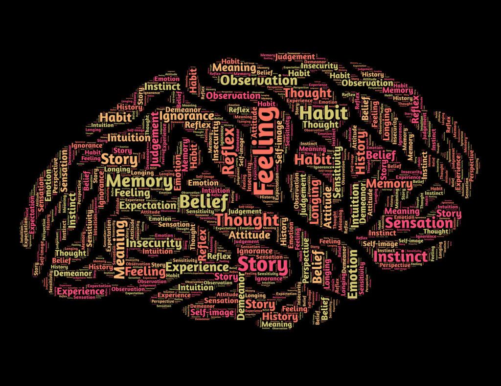 арт мозга и мыслей