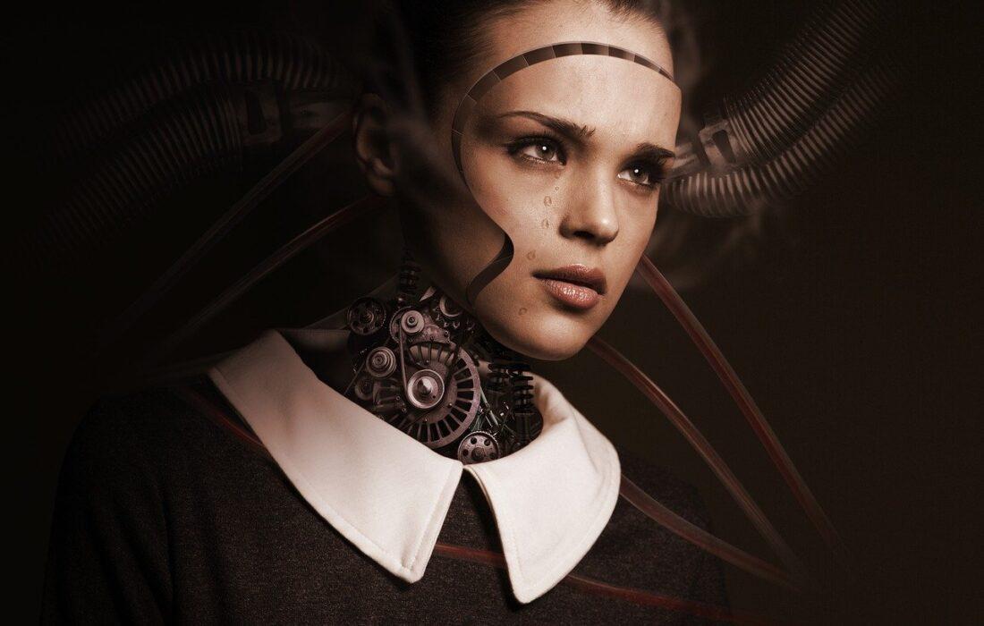 девушка-робот
