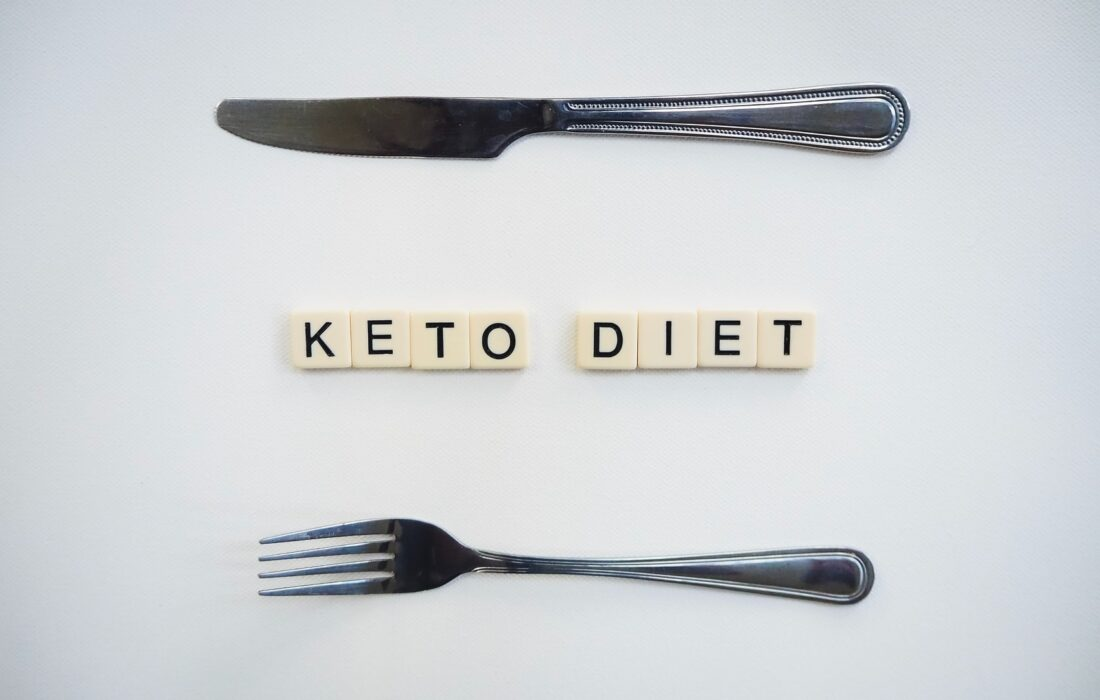 """надпись """"кето диета"""""""