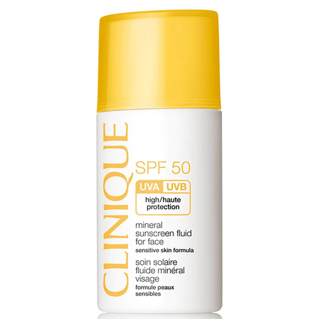 CLINIQUE Mineral sunscreen fluid for face SPF50