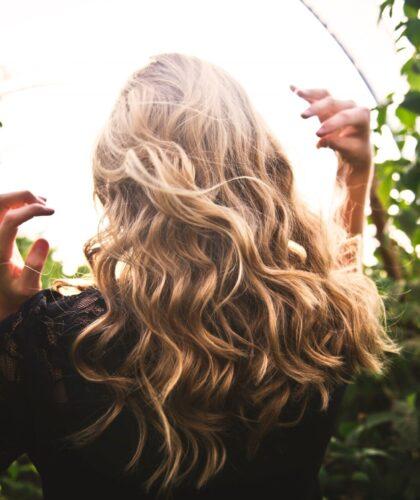 РАспушенные волосы