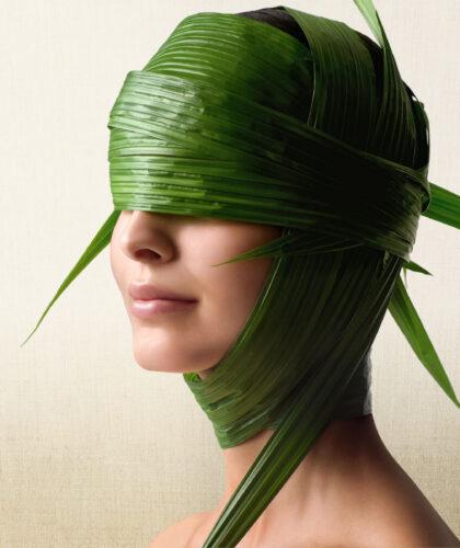 водоросли на лице