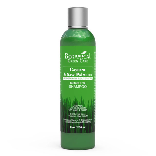 Botanical Green Care Organic Biotin, Caffeine & Saw Palmetto