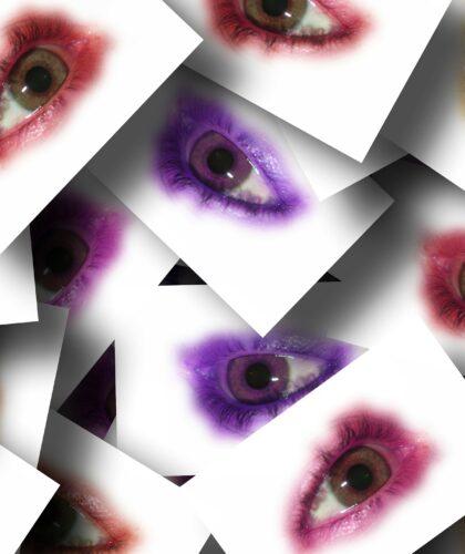 нарисованные глаза