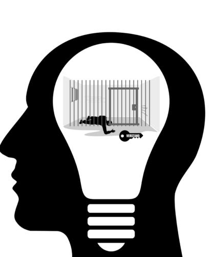 арт тюрьмы в голове