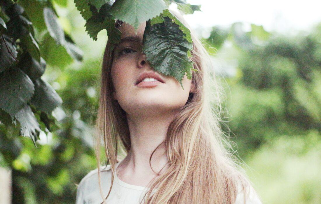 девушка на природе
