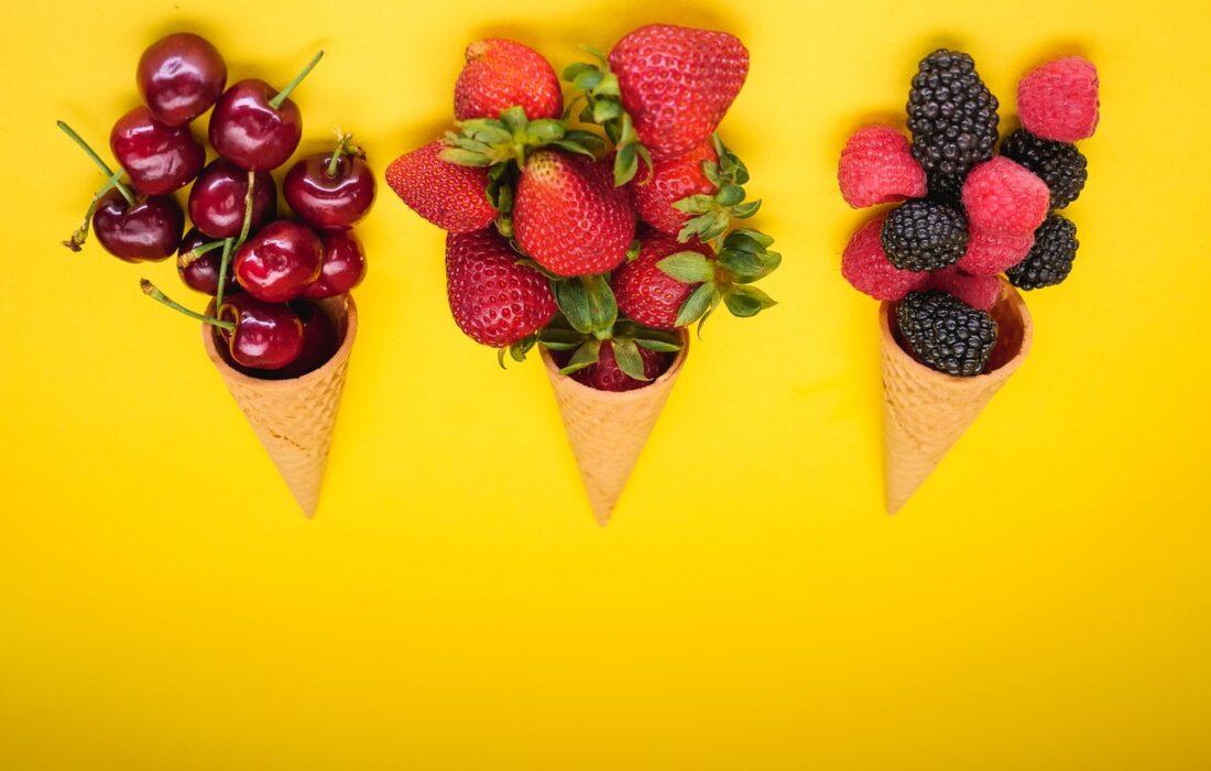 ягоды и рожки