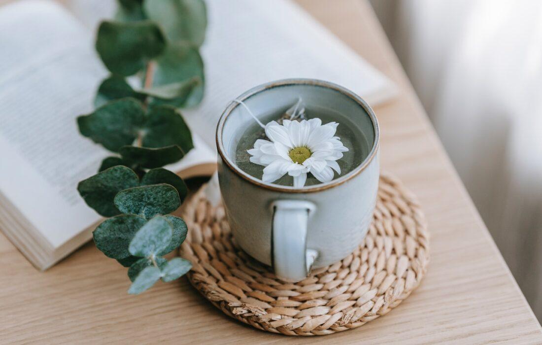чай с цветочком