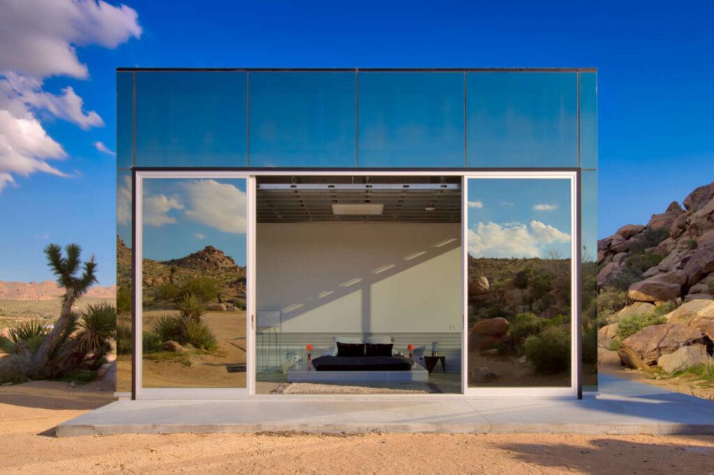 невидимый дом в калифорнии