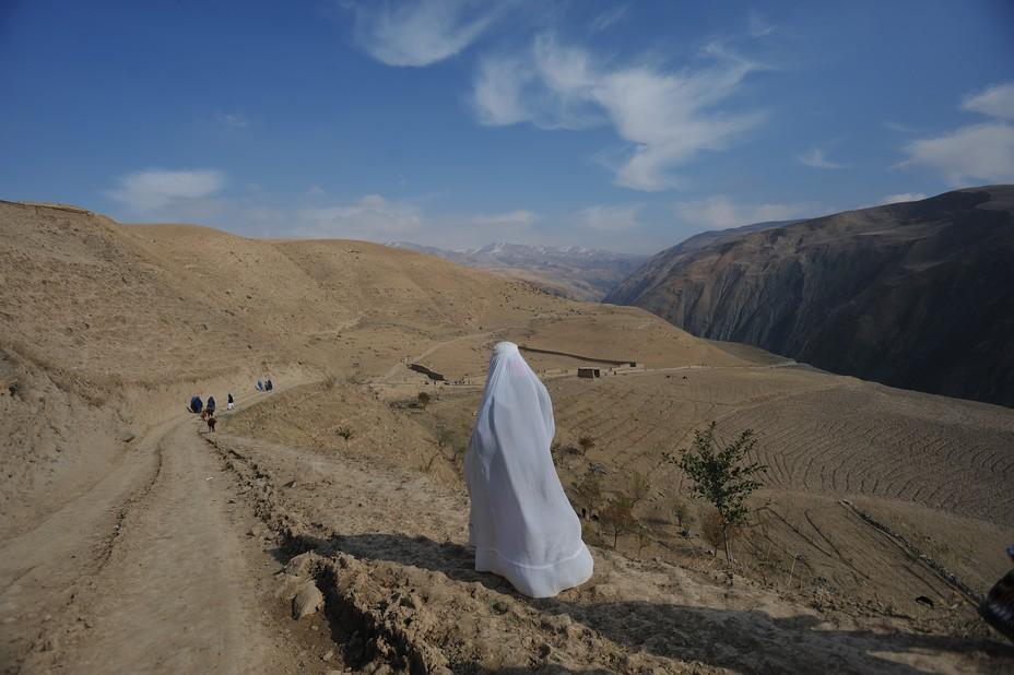 женщина в Бадахстане