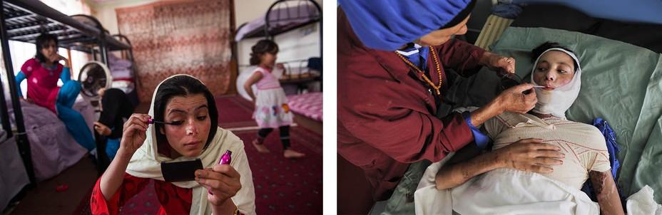 девушки Афганистана
