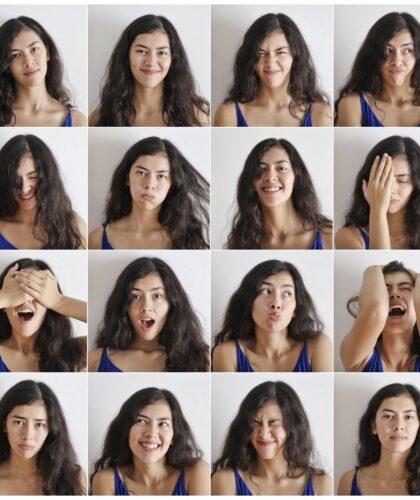 эмоции девушки