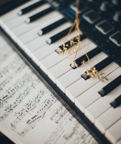 ноты и клавиши