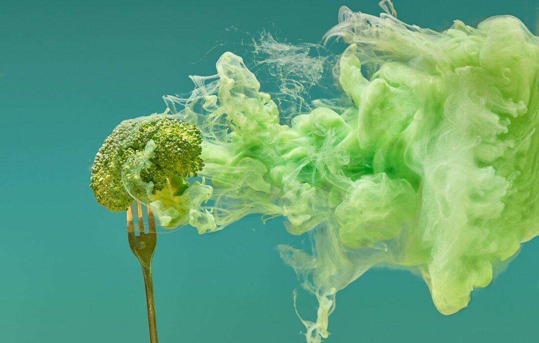 брокколи и дымка