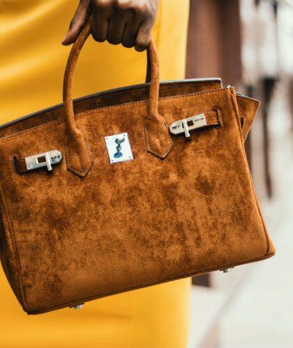 коричневая сумочка