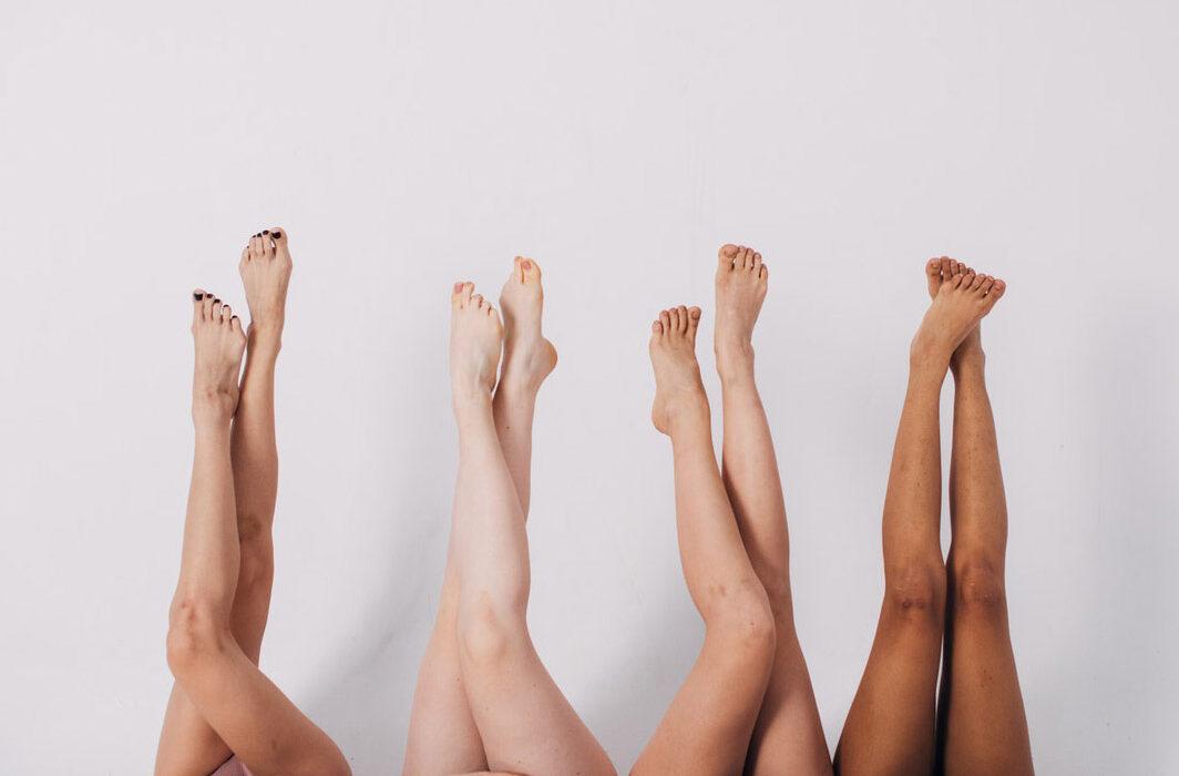 ноги девушек